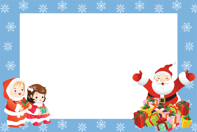 Minion clipart frame. Christmas photo frames for