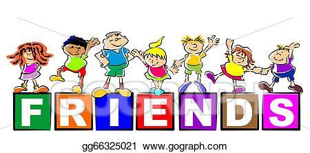 friendship clipart preschool