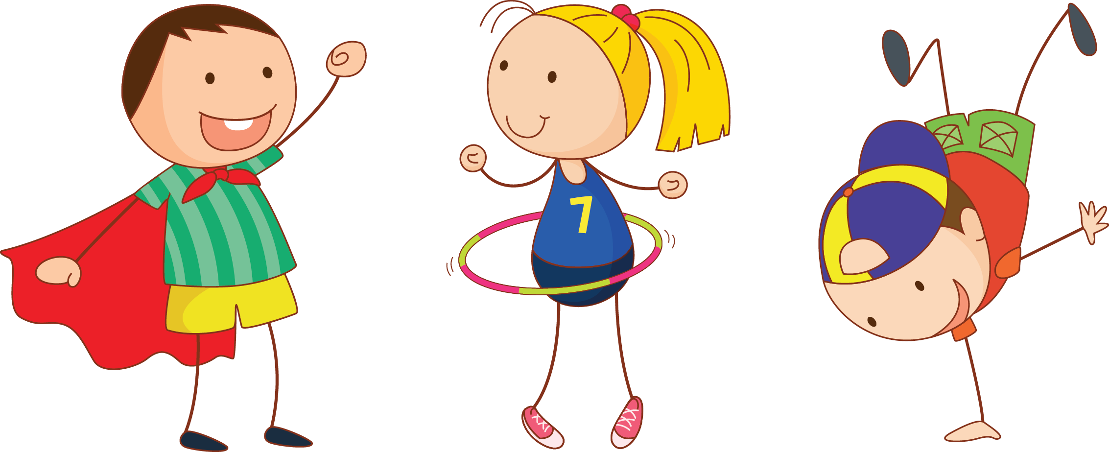 Kids png transparent images. Exercise clipart childrens
