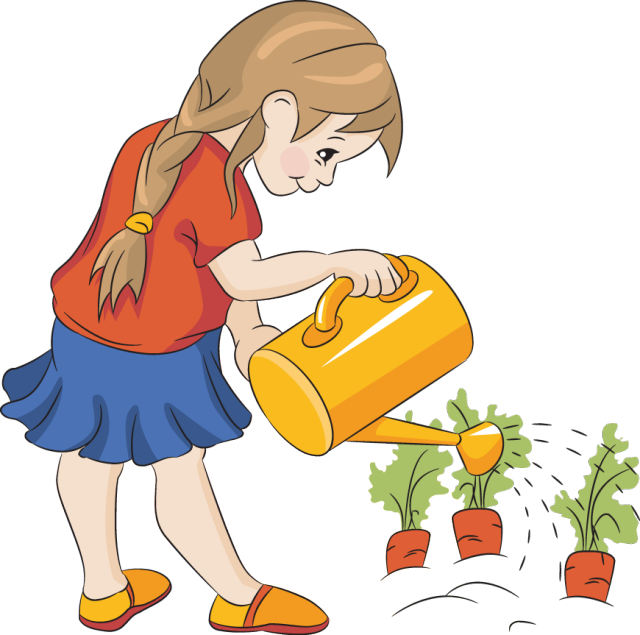 Gardening clipart dig.  collection of children