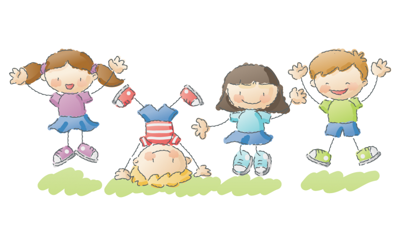 Early childhood classes city. Kids clipart park