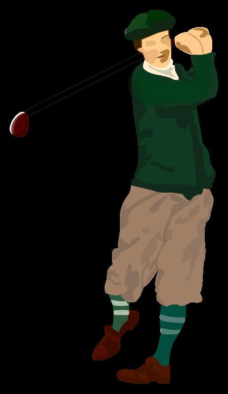 Lady clipart golf. Golfer jokingart com