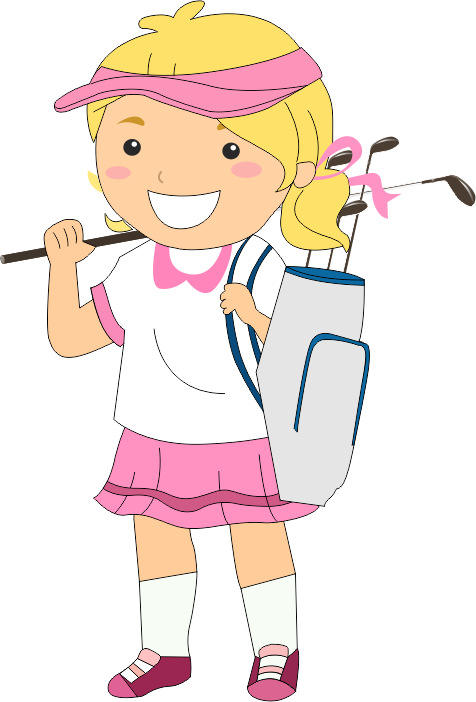 Golf free on dumielauxepices. Golfing clipart child