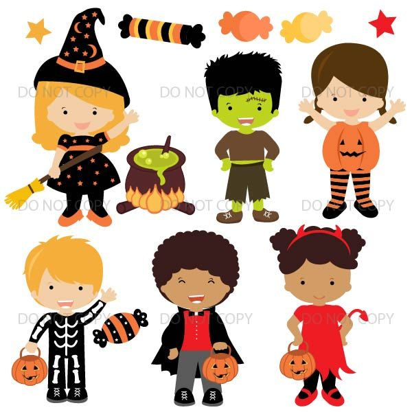 Costume clipart toddler. Halloween kids party