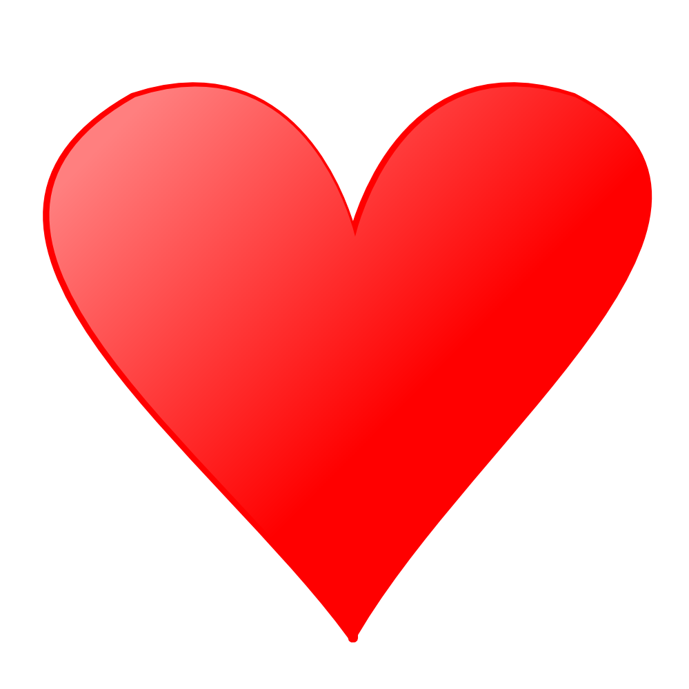 Heart simple kid . Cute hearts png