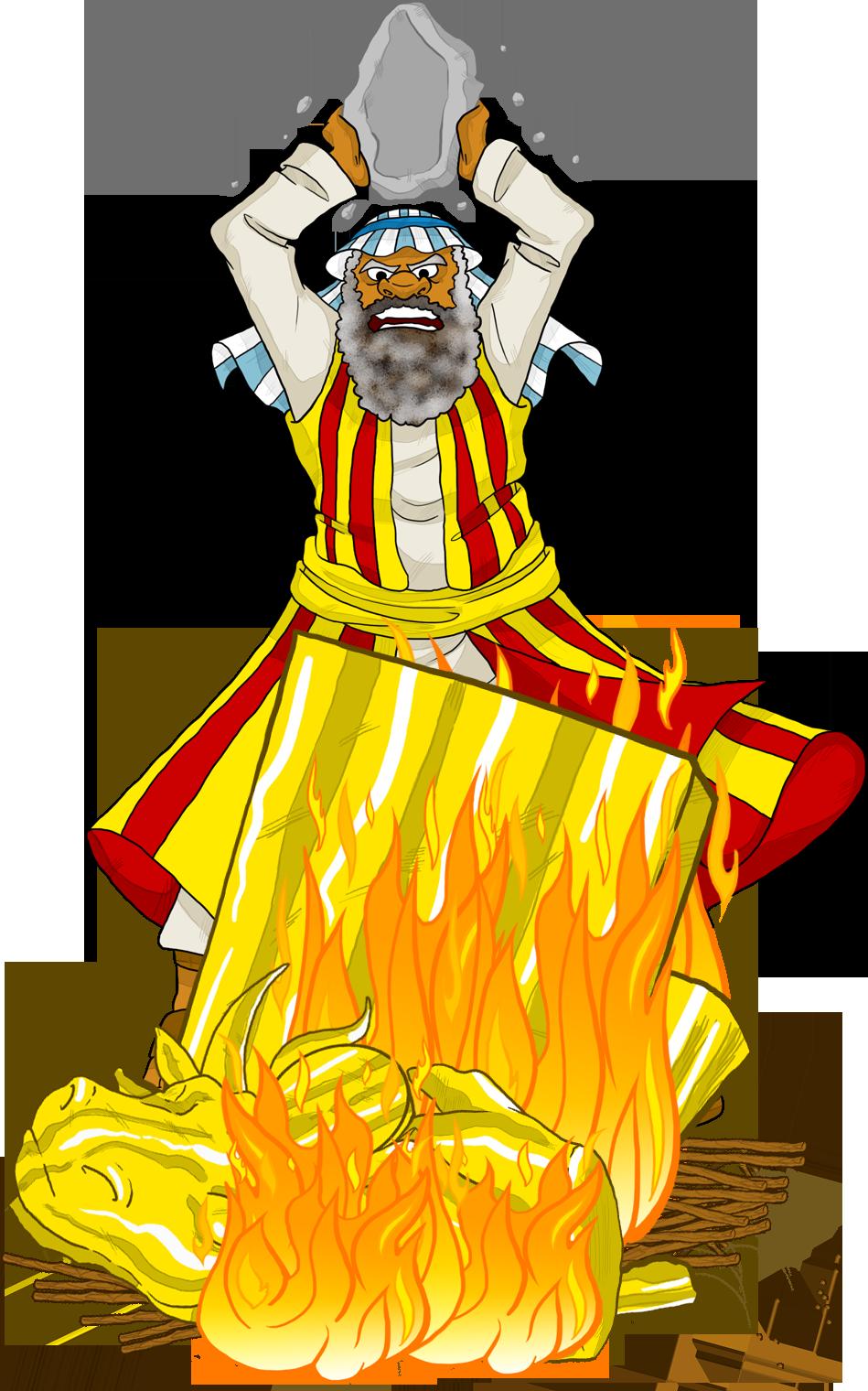 Quail clipart manna. Moses destroys the golden