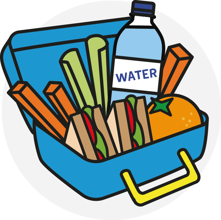 collection of healthy. Lunchbox clipart lunch count