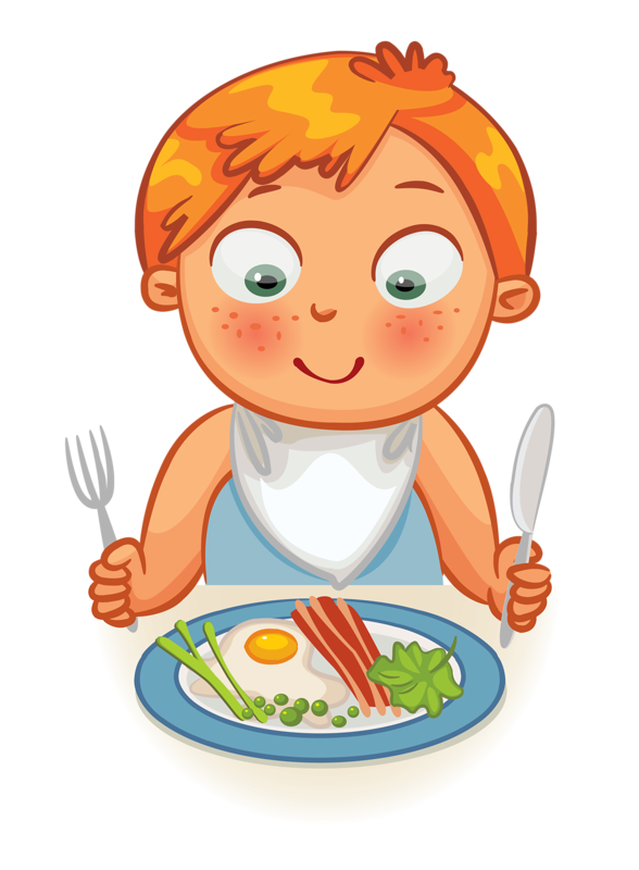 collection of lunch. Voting clipart kid