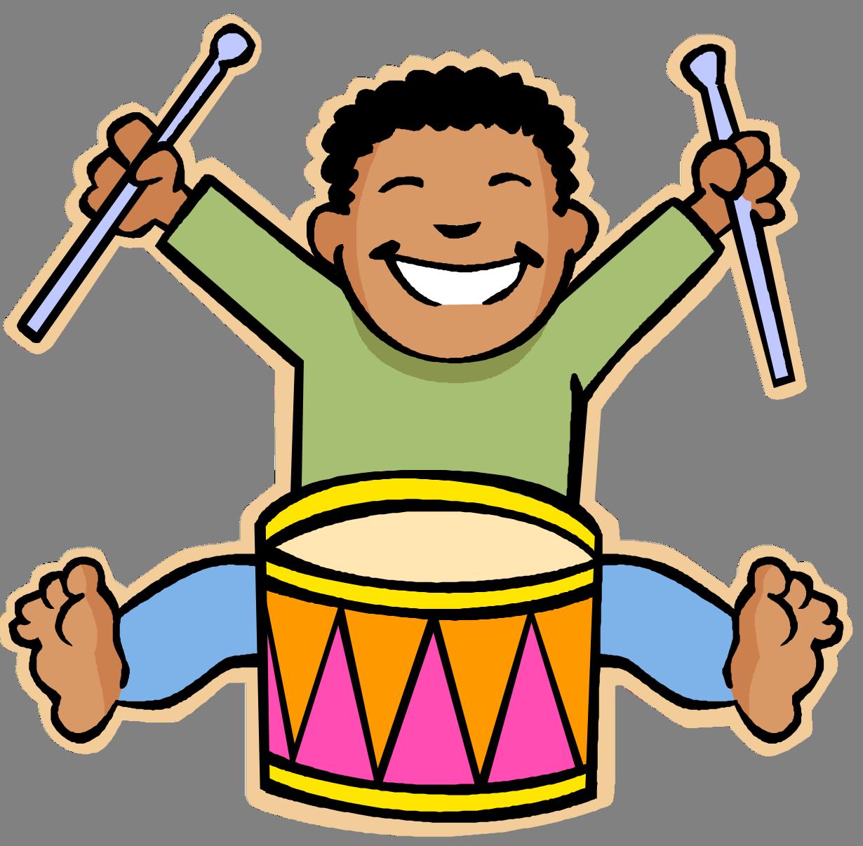 Kids and music . Musician clipart children's