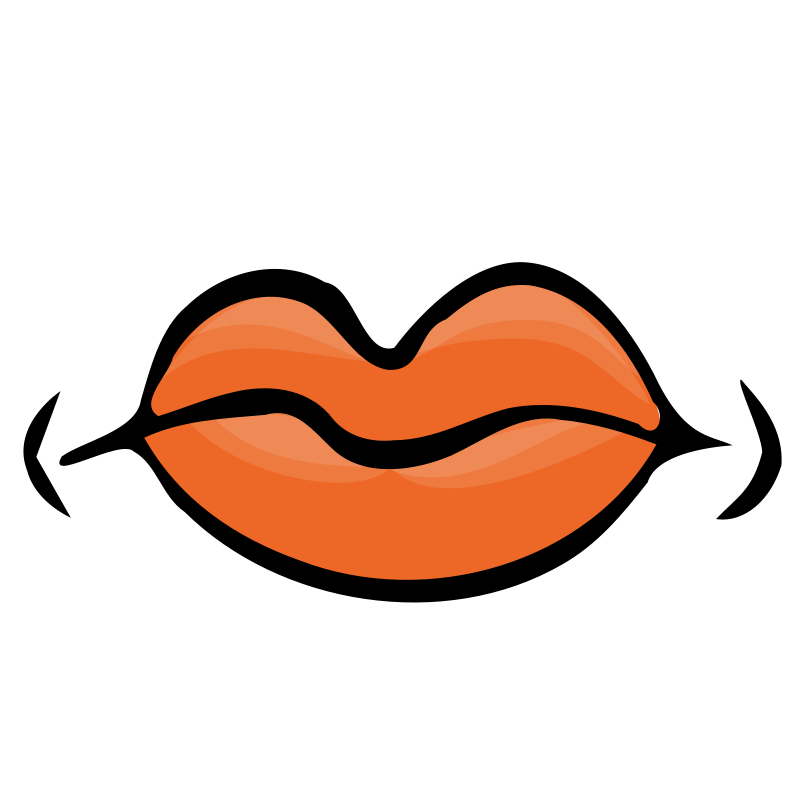 Lips clipart quiet. Closed mouth clip art
