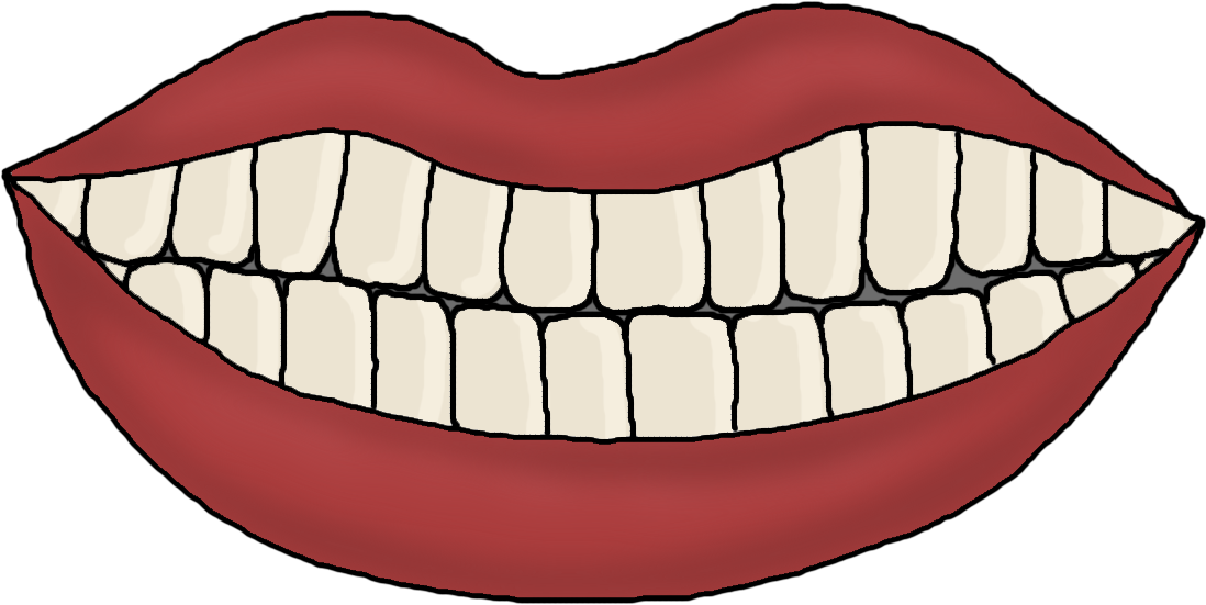 With teeth template christmas. Taste clipart mouth