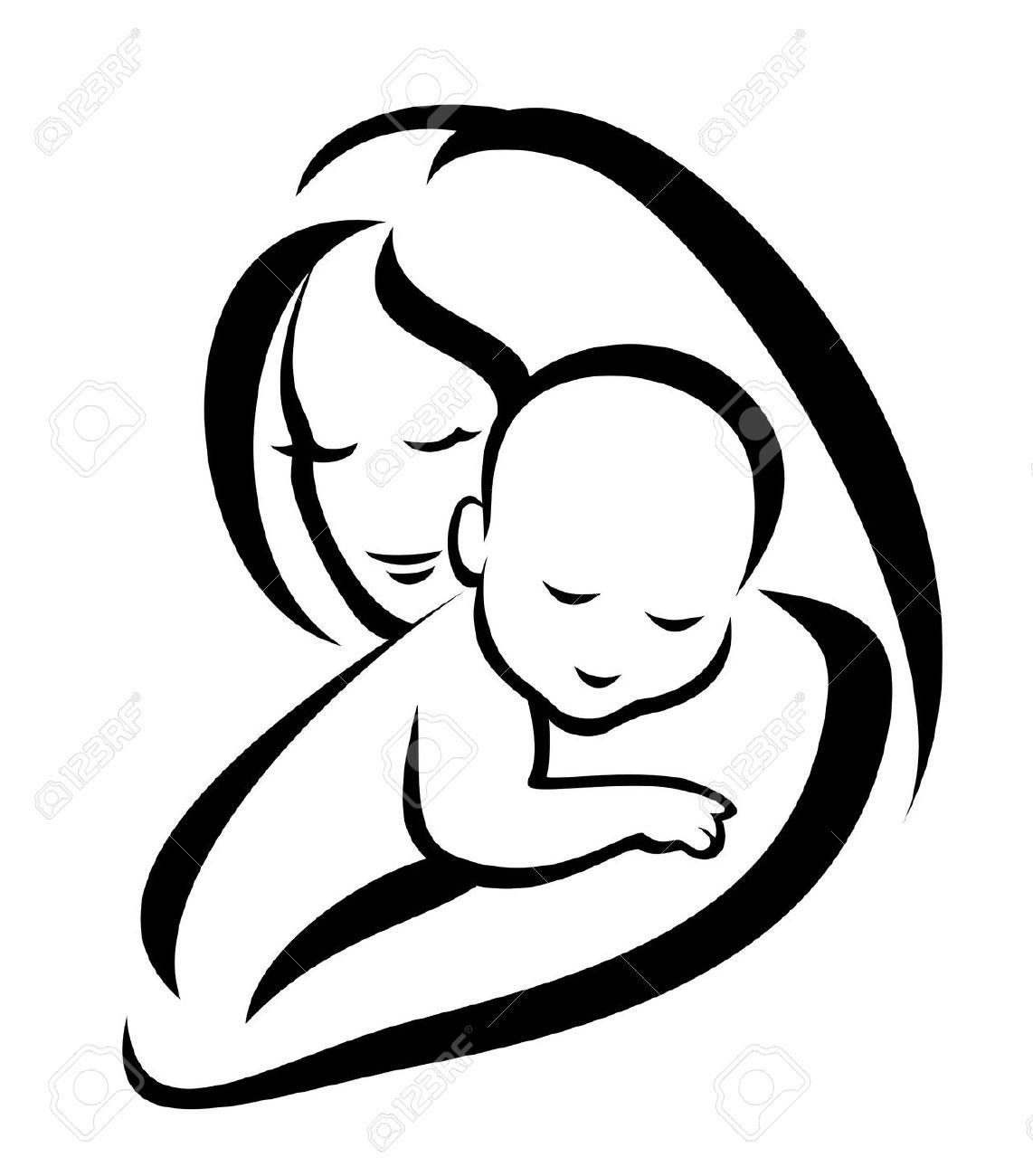Mother and free download. Hug clipart hug baby