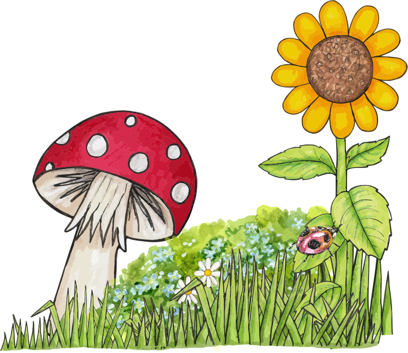 collection of images. Clipart children nature