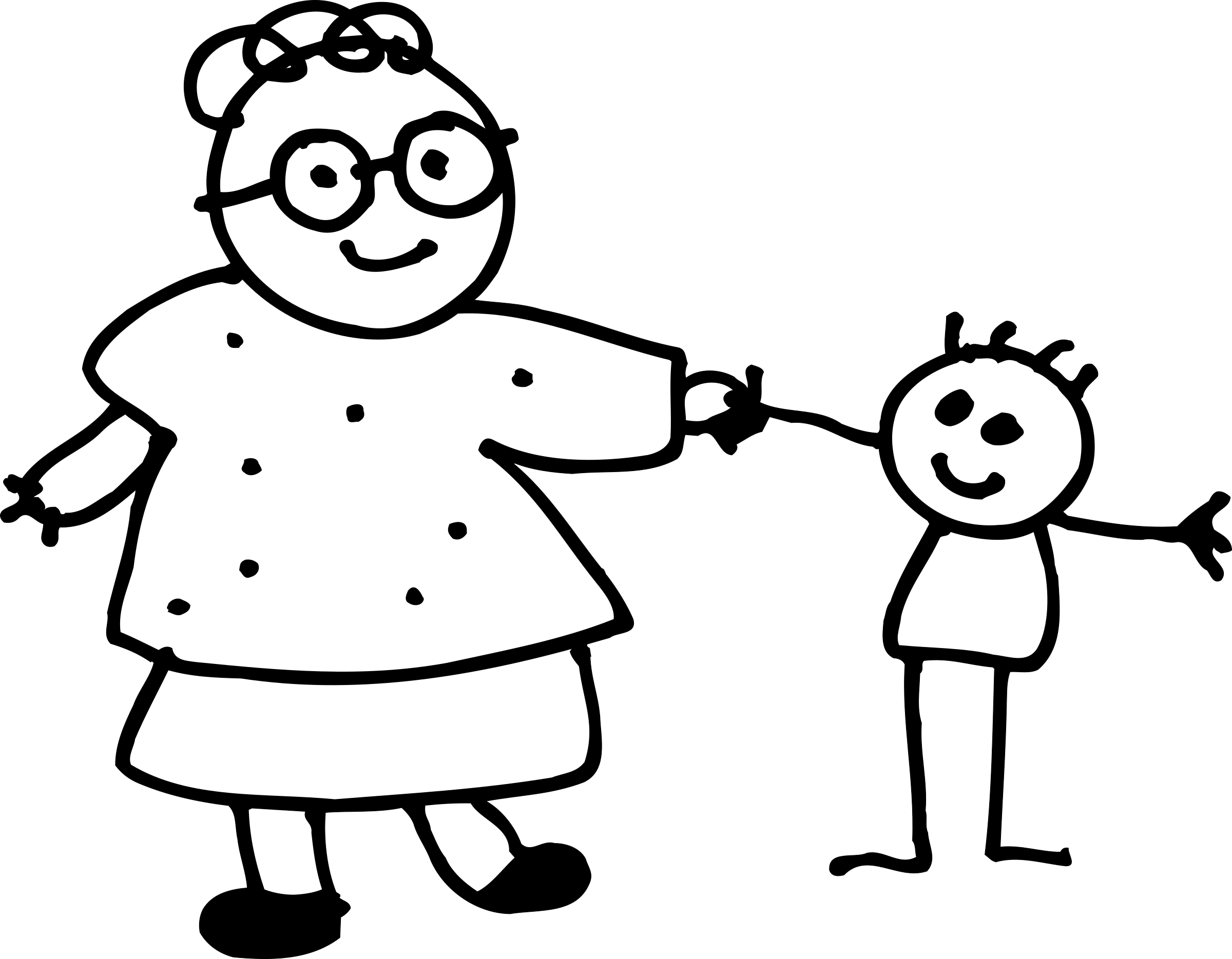 Holding childs hand big. Clipart mom outline