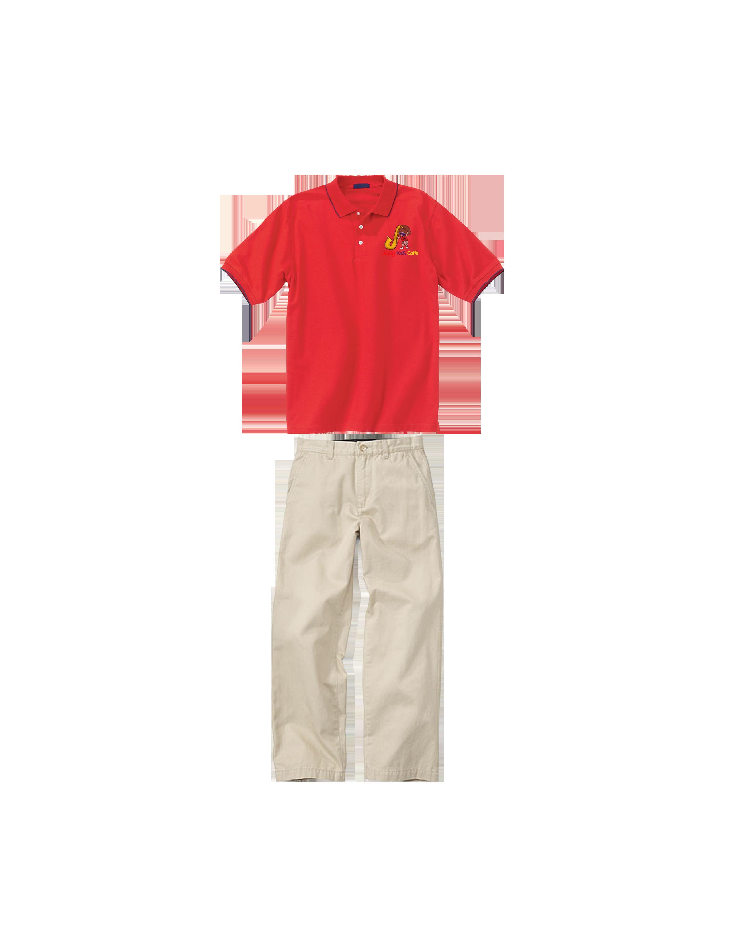 Kids clipart pants. Jazzy care uniform girlsshirtpants