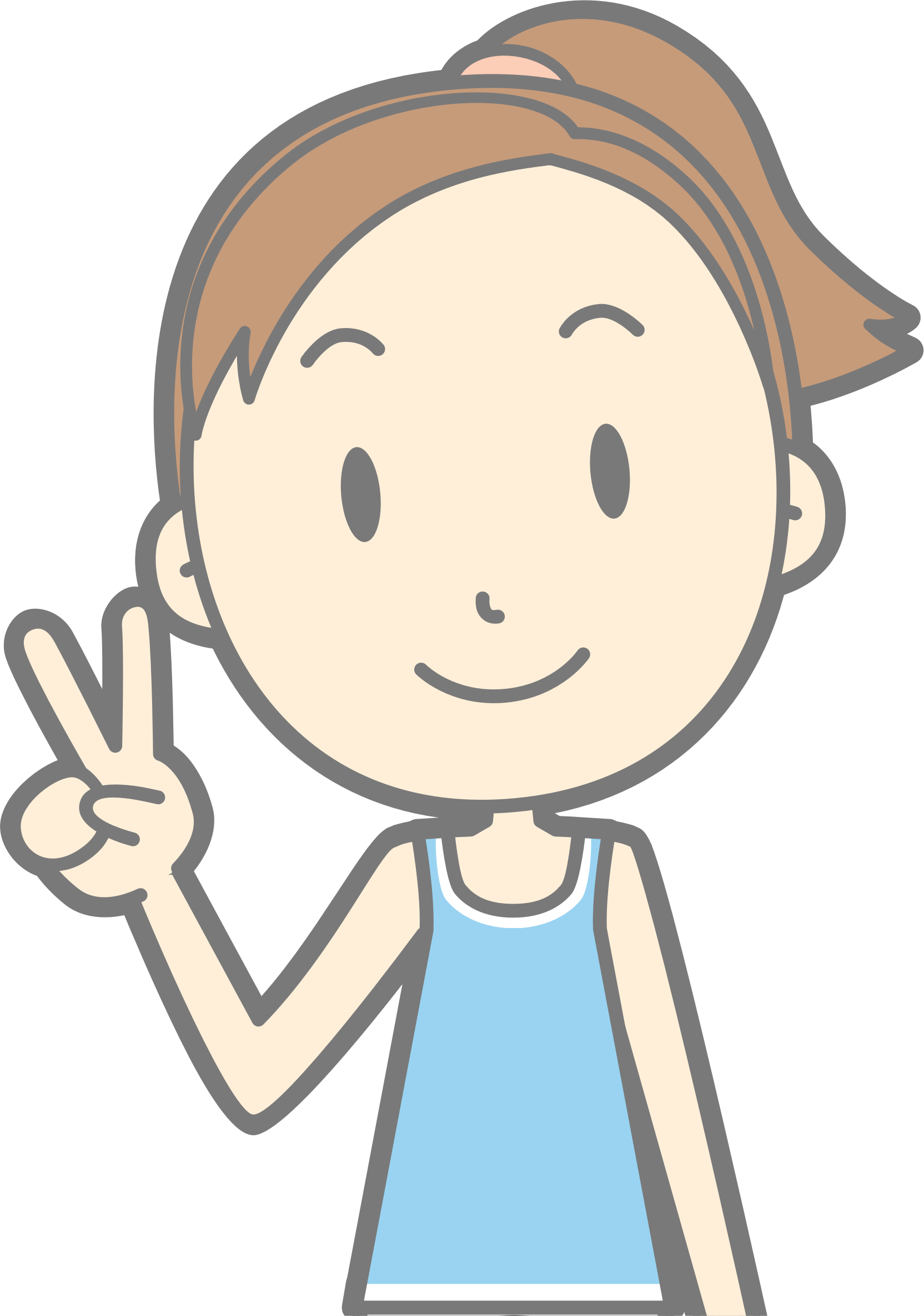 Sign big image png. Peace clipart child
