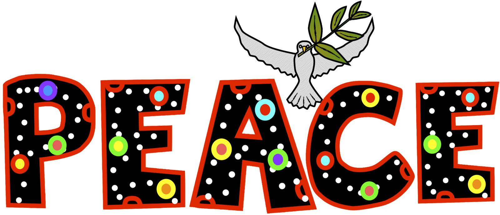 Peace clipart acknowledgement.  collection of children
