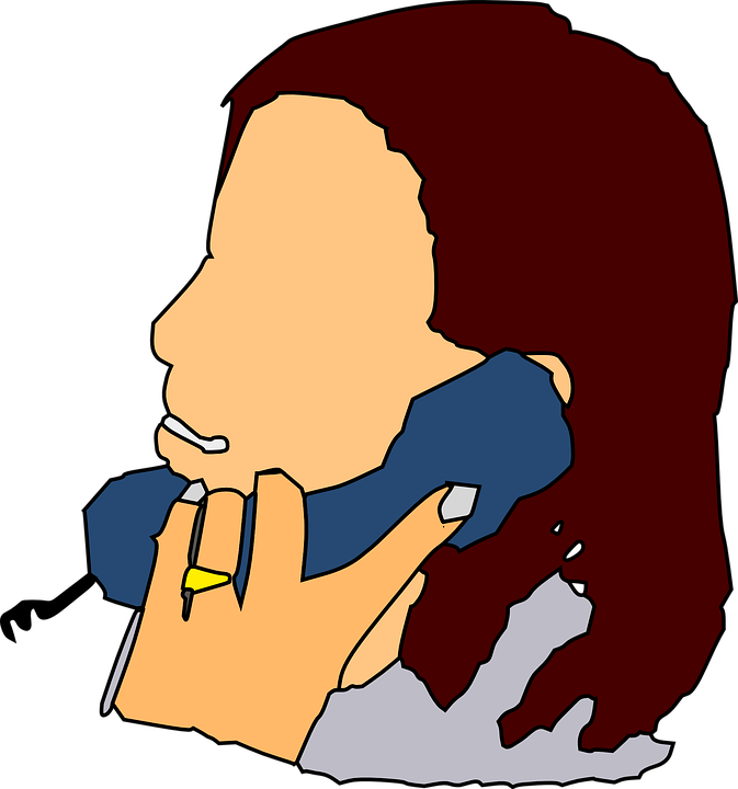 Clipart mom phone. Cliparthot of animated and