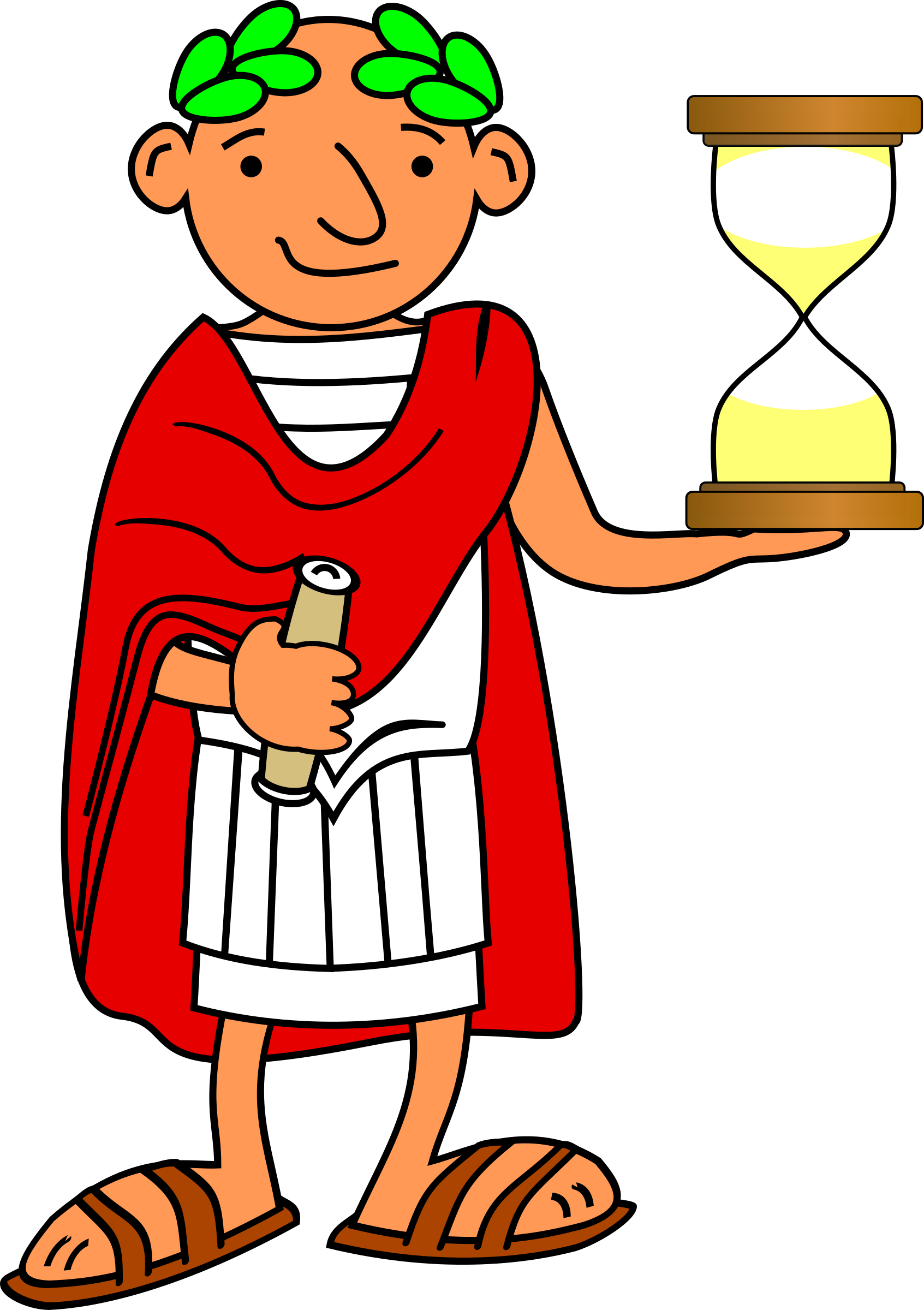 Ancient rome clip art. Hourglass clipart old