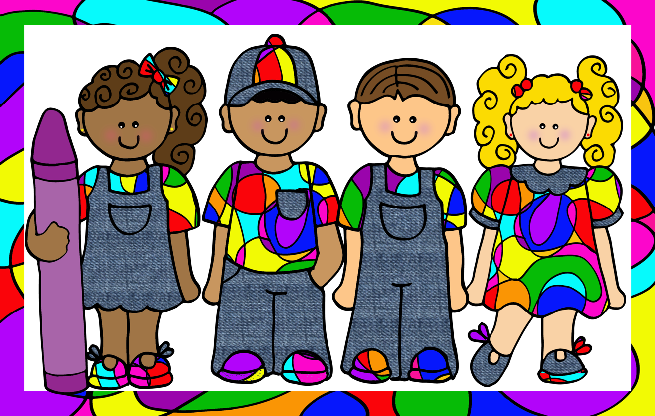 Friendship clipart multicultural. Creative playground picasso kids