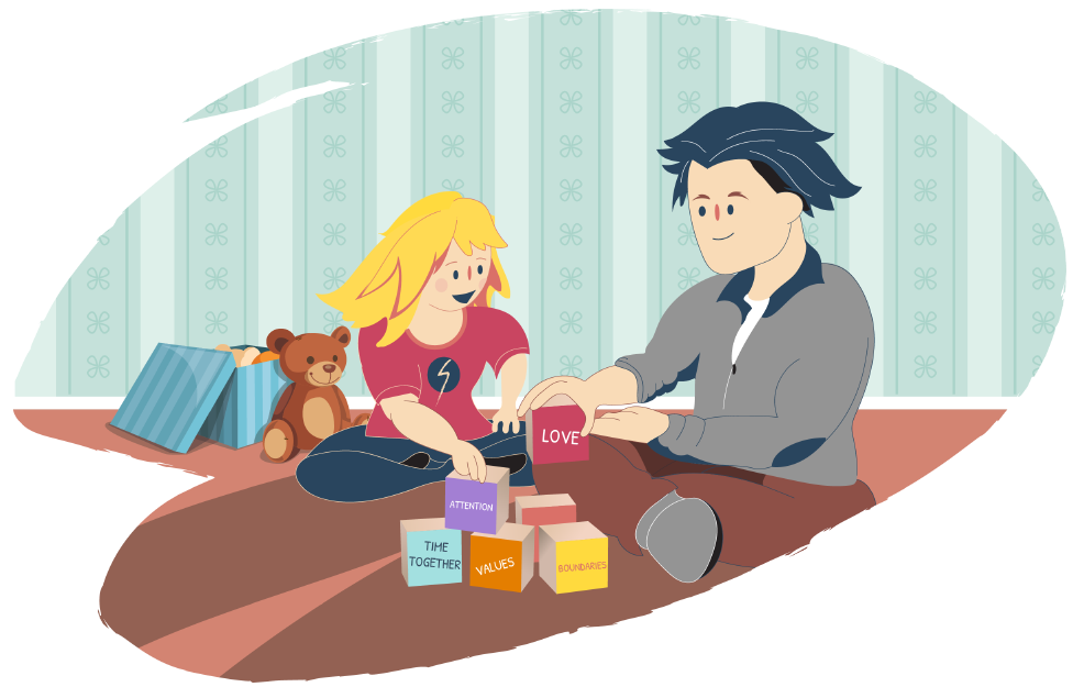 Building healthy family relationships. Positive clipart positive influence