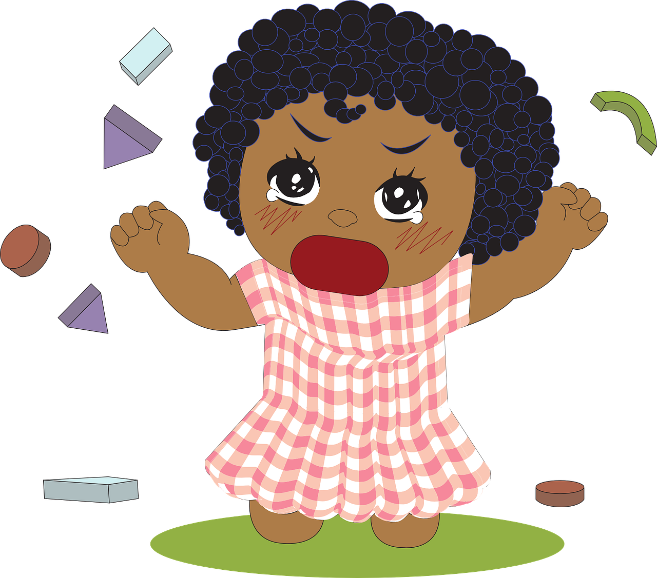 Authentic parenting for . Toddler clipart surprised