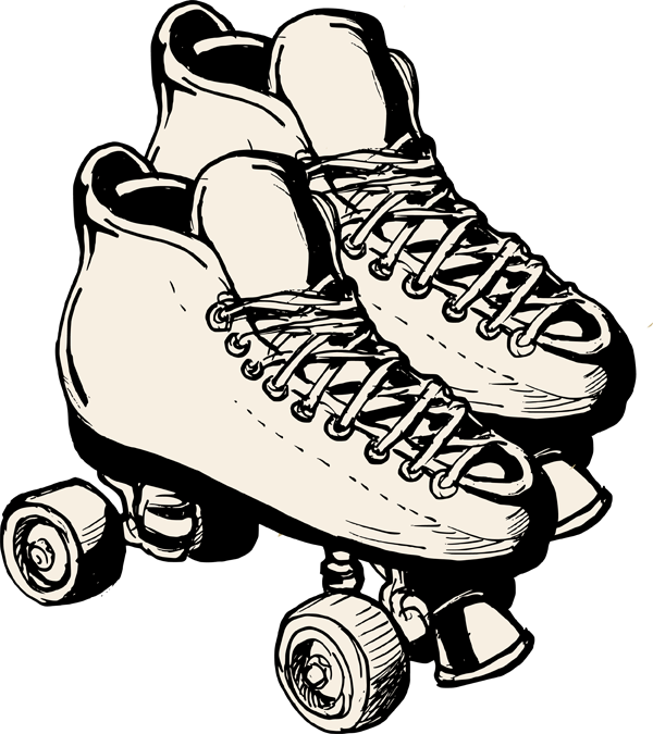 Clipart people roller skating. National month best