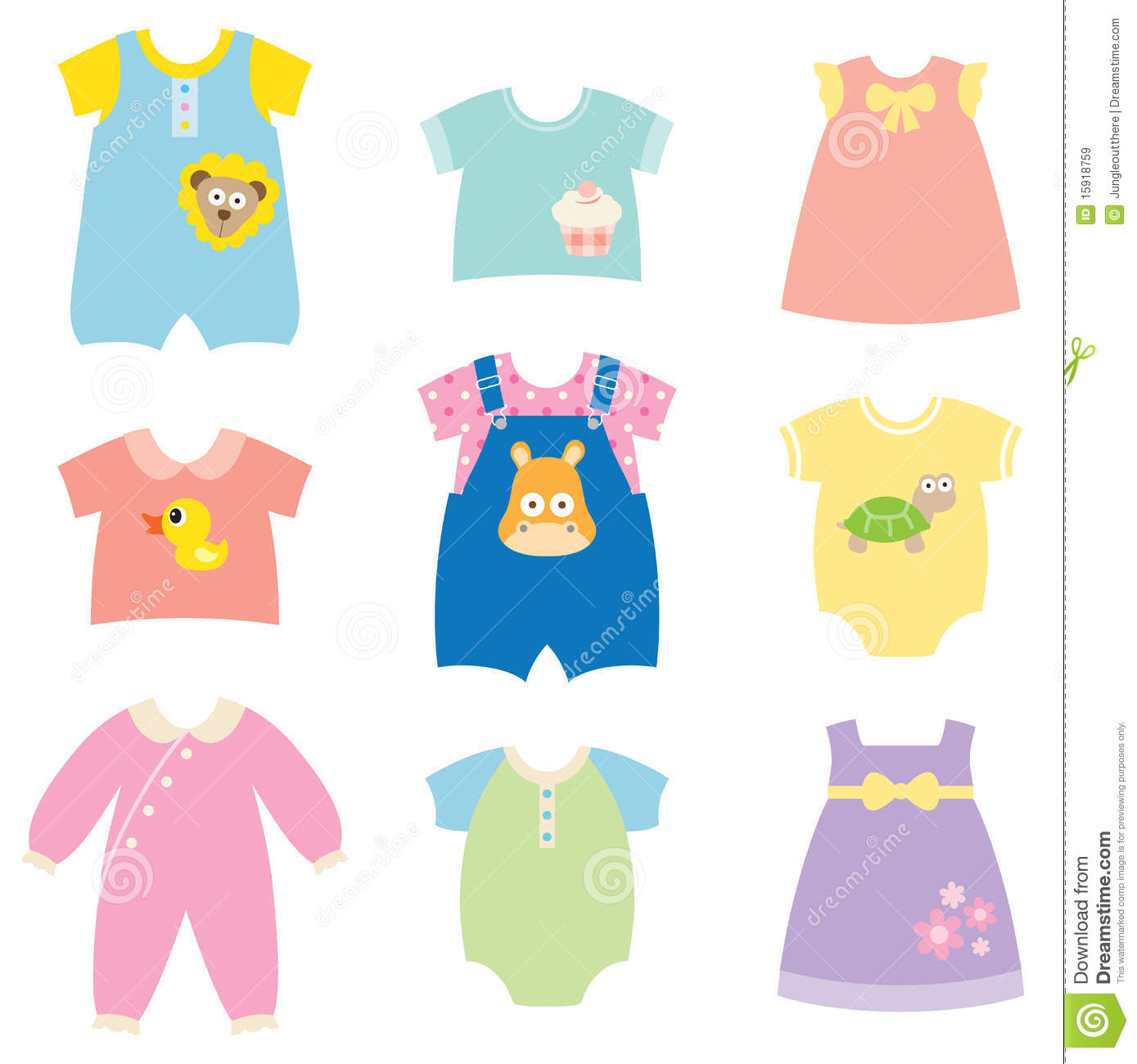 Free kids shirt download. Pajamas clipart baby doll clothes