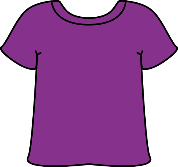 Purple tshirt pinterest clip. Clipart shirt child