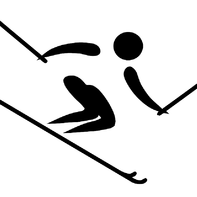 Waves clipart wipeout. Skis silhouette at getdrawings