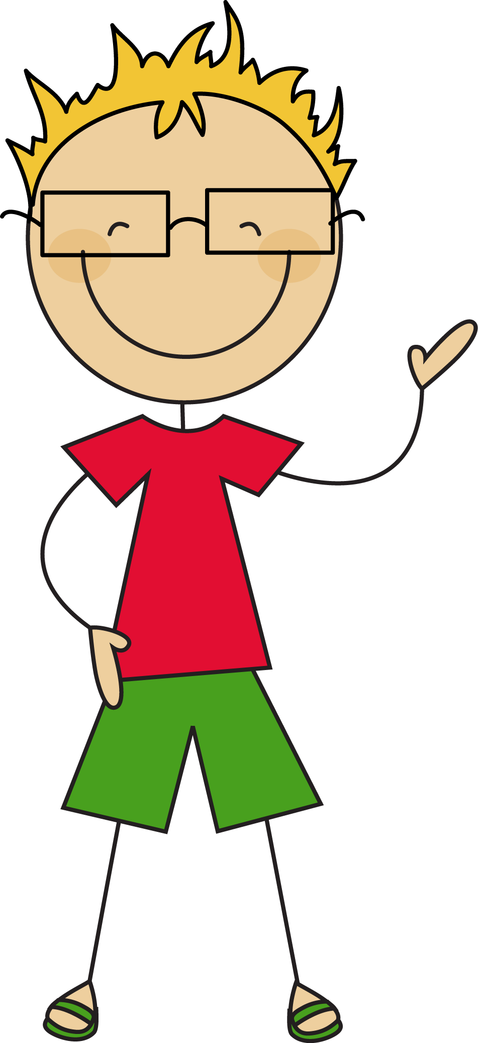 collection of boy. Clipart hammer kid