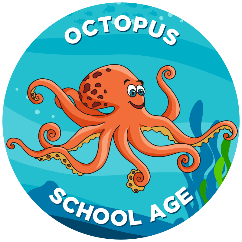 Swimsuit clipart different. Octopus propel swim academy