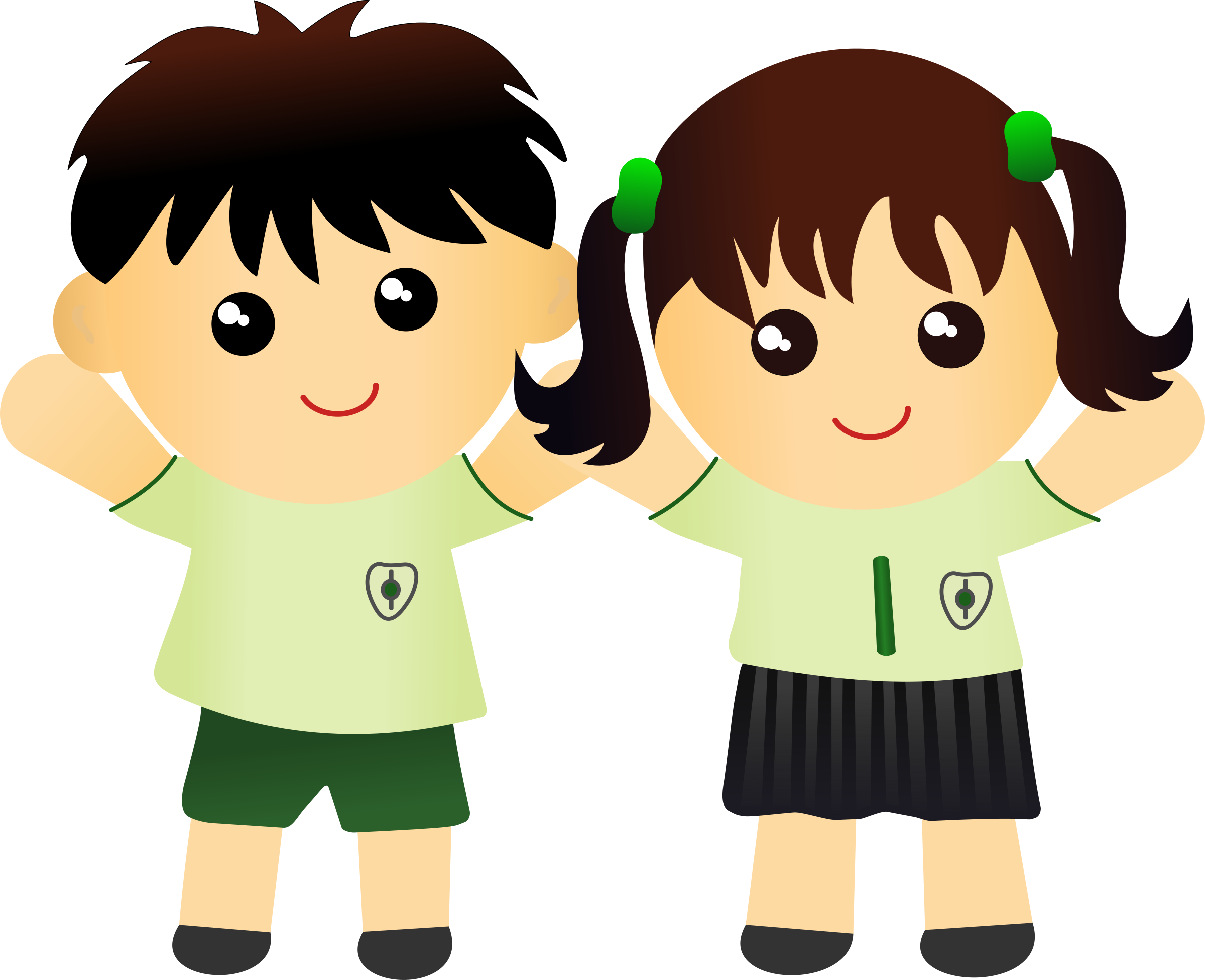 New on the first. Clipart child uniform