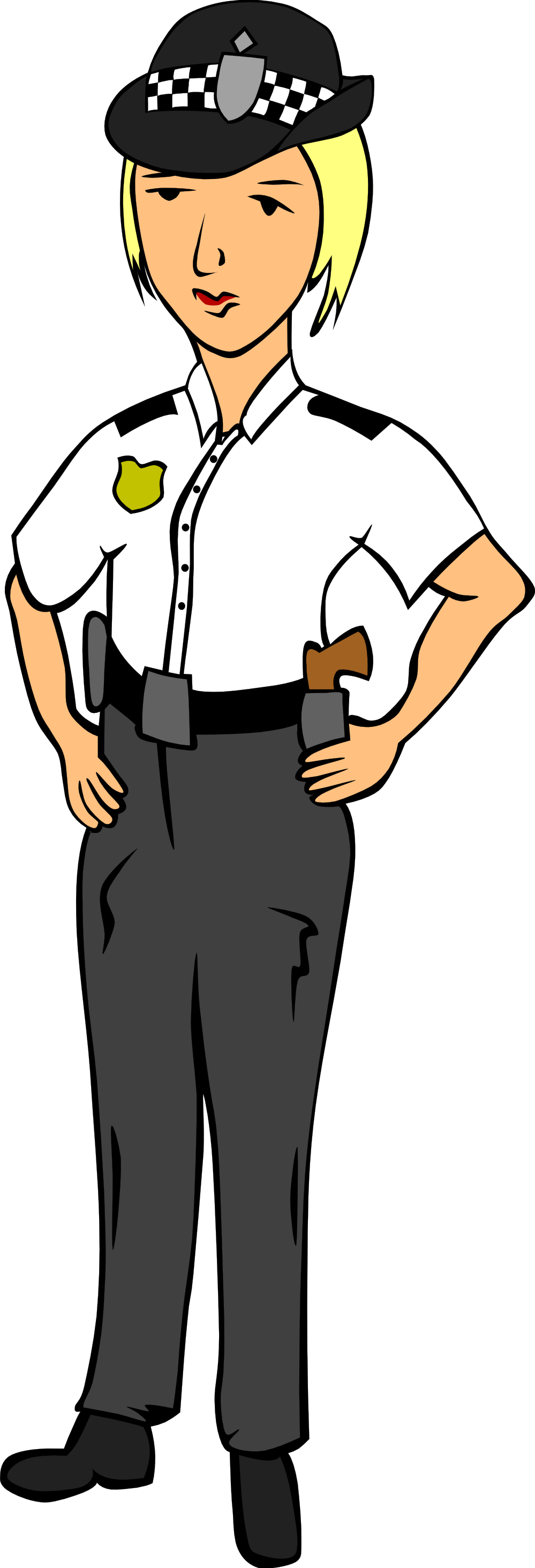 Fight clipart polite. Free police officer download