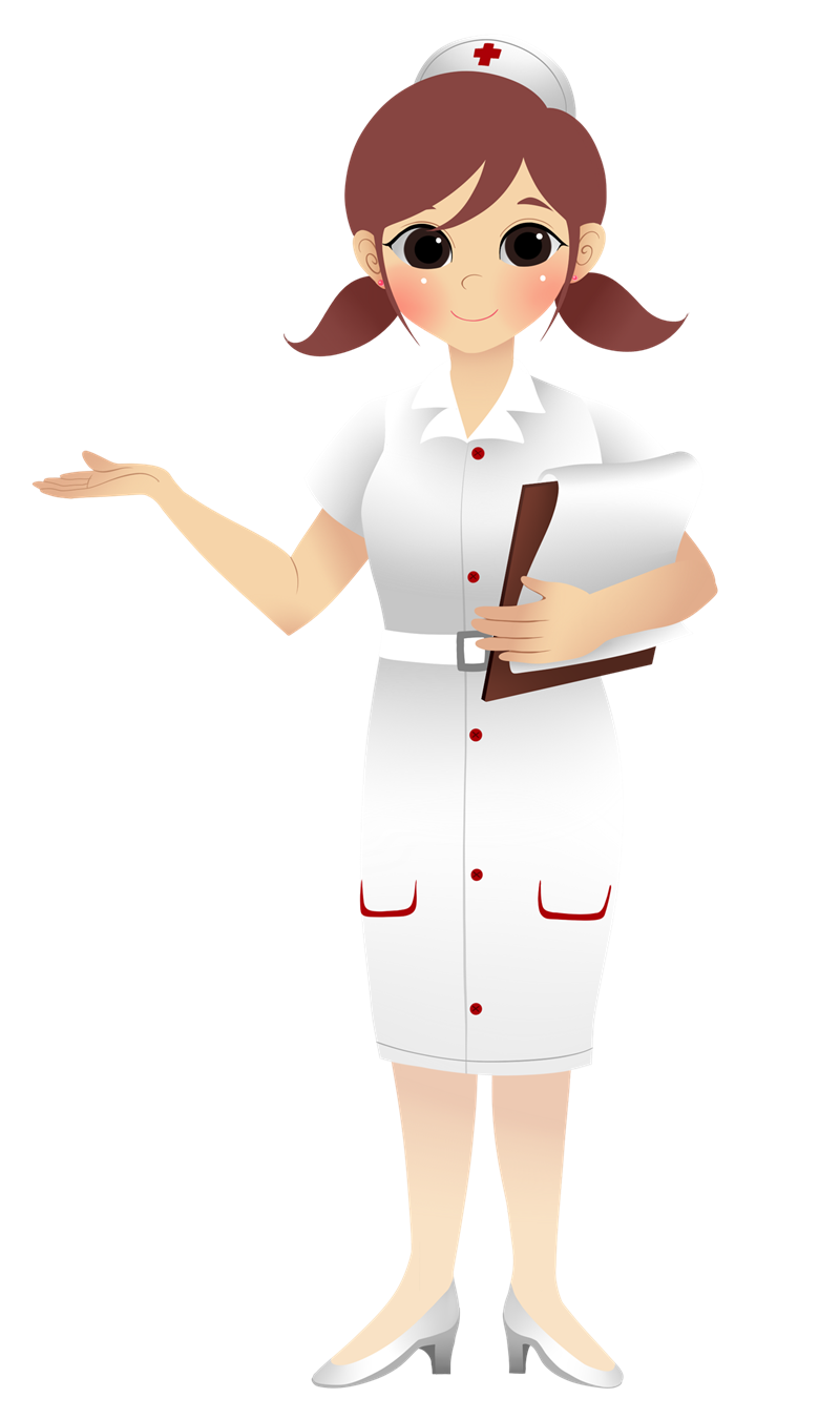 Uniform pencil and in. Patient clipart nurse