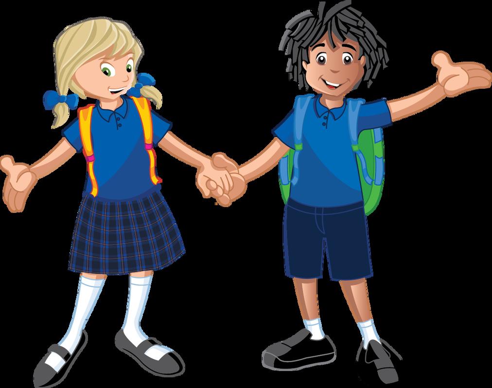 Beachlands school clip art. Clipart child uniform