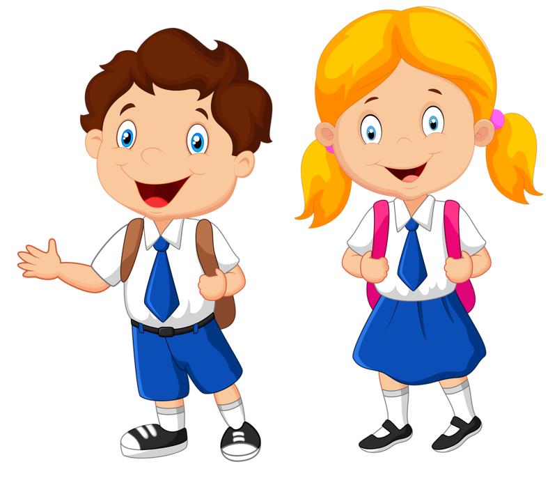 Telephone clipart animation. School uniform student clip