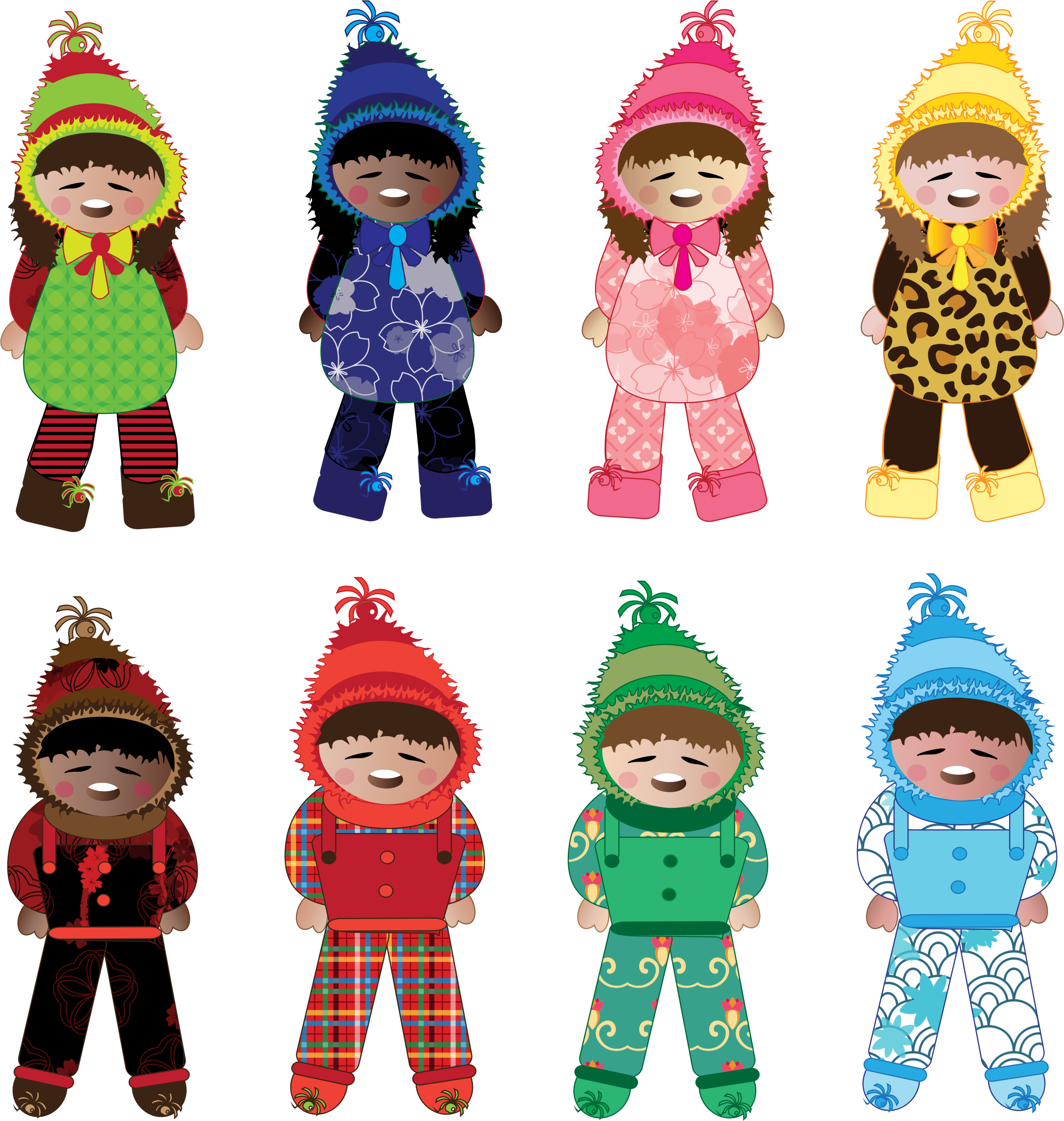 Wednesday clipart winter. Kids icons png free