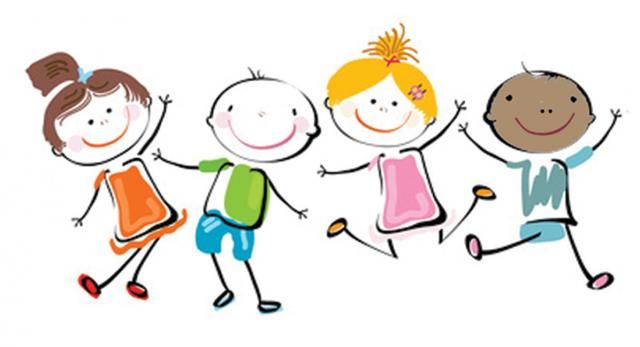 Happy kids clip art. Celebrate clipart safety