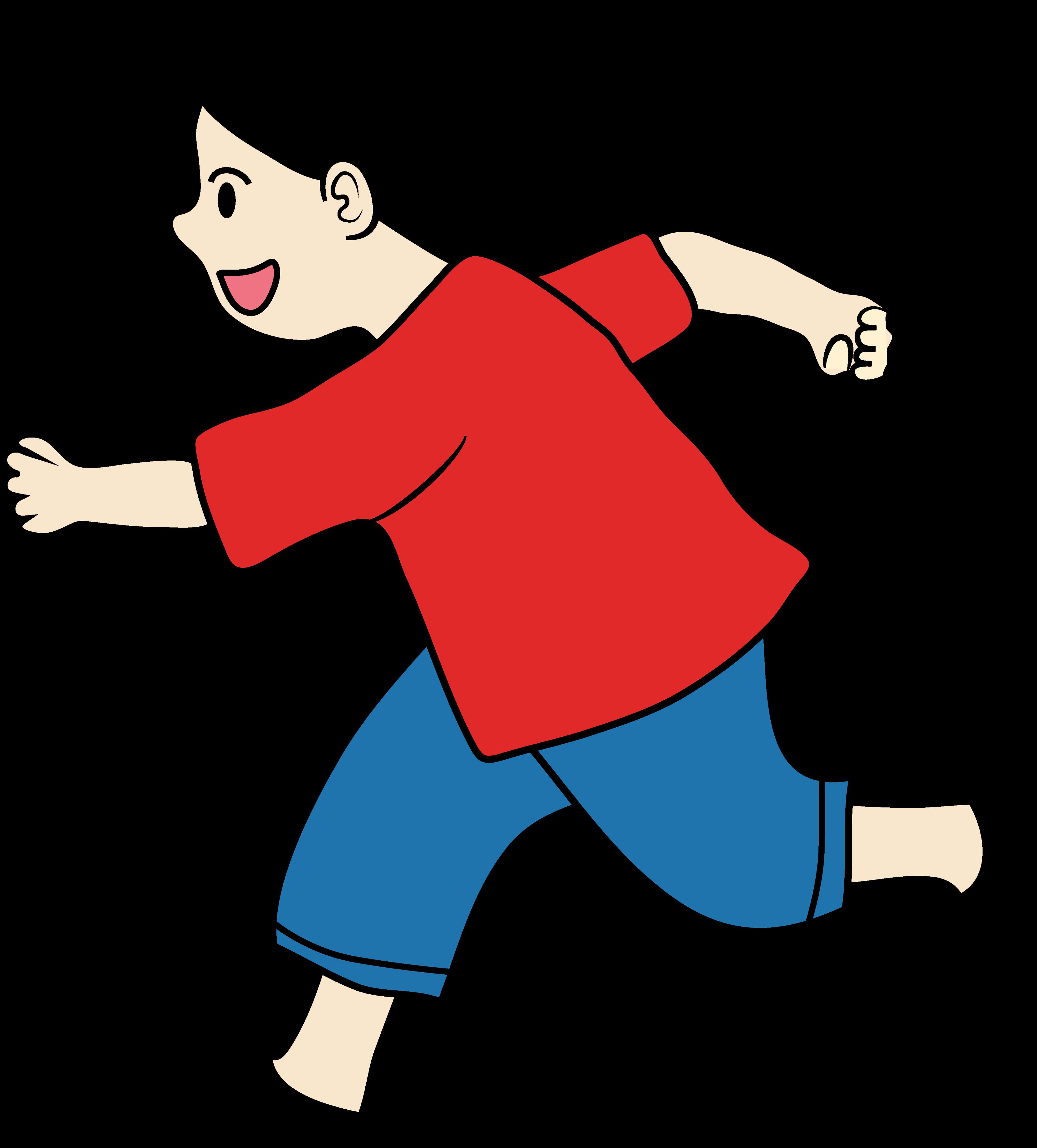 Clipart walking jog in place. Running child clip art