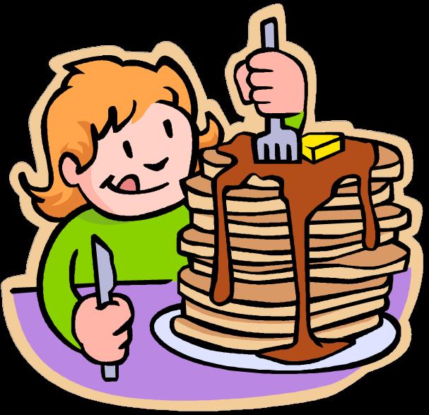 Clipart children breakfast.  collection of pancake