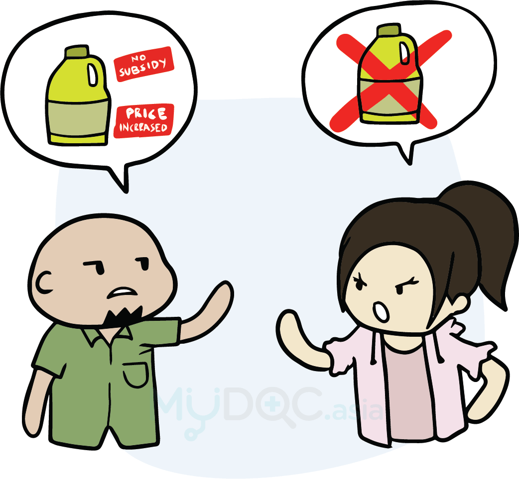 Heartbeat clipart poor health. Types of cooking oil