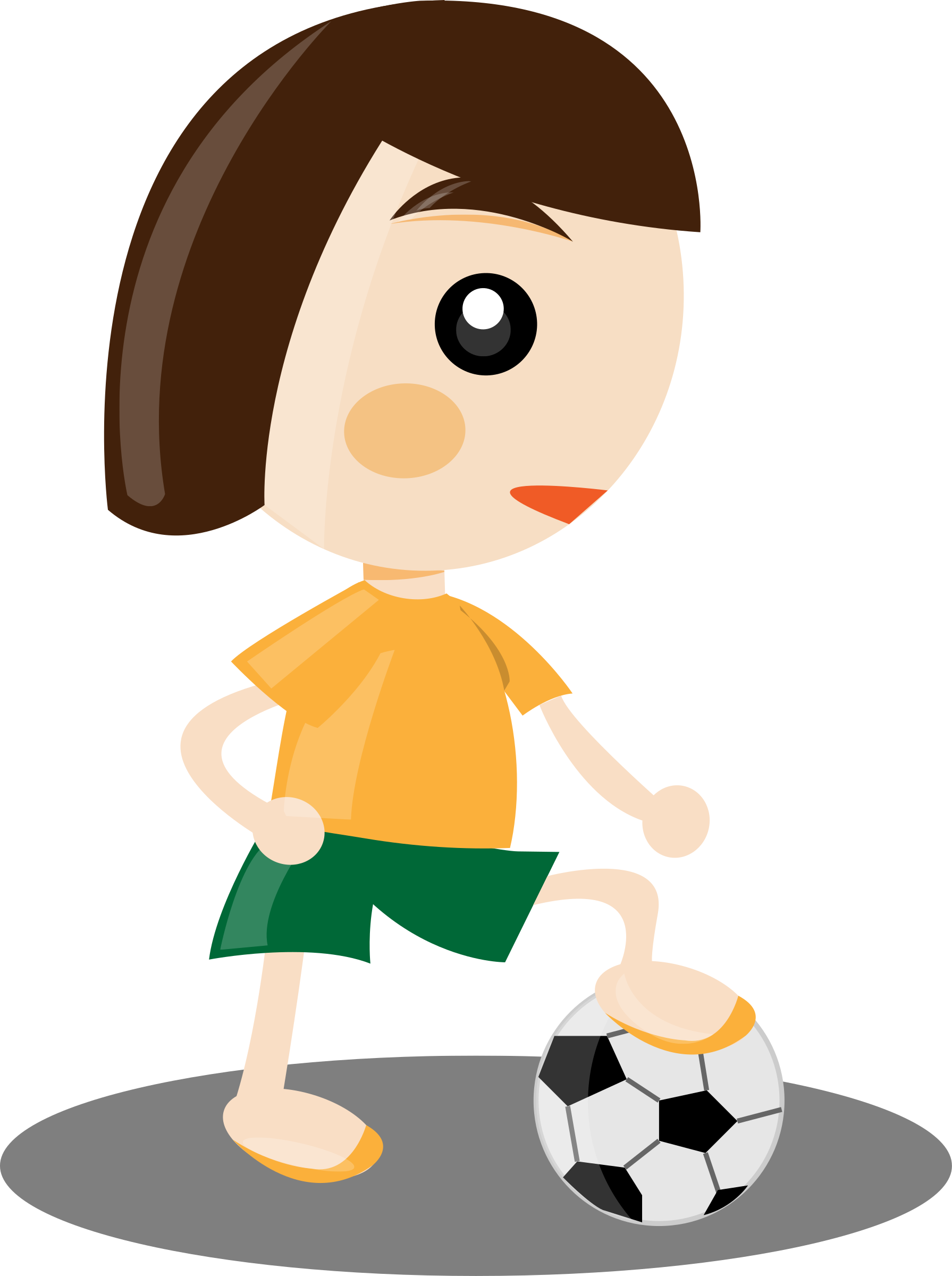 Girl sports at getdrawings. Person clipart laptop