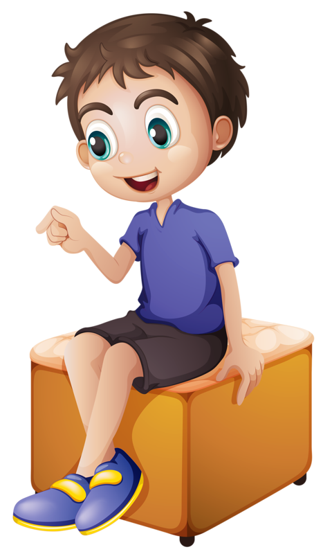 Boy wearing snorkel and. Clipart children diving