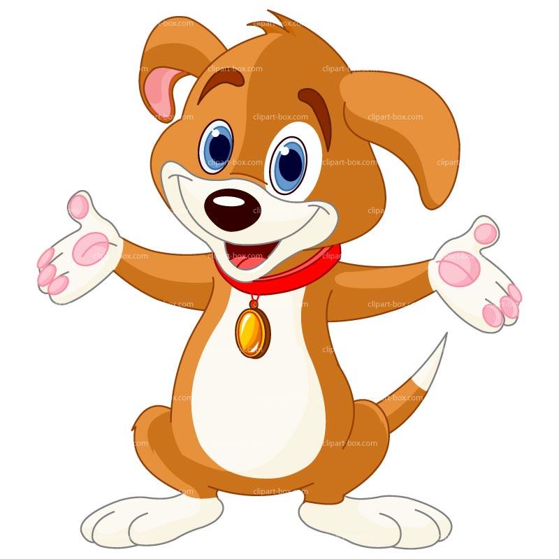 Dogs clipart box. Happy monday kid clipartix
