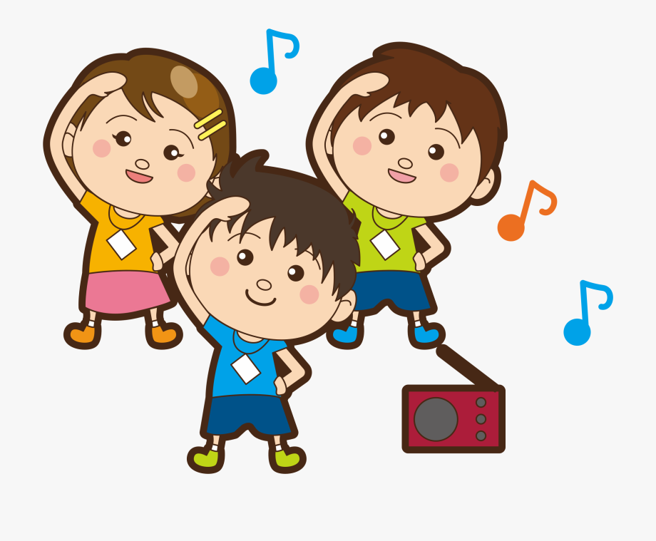 Children big image png. Exercise clipart childrens