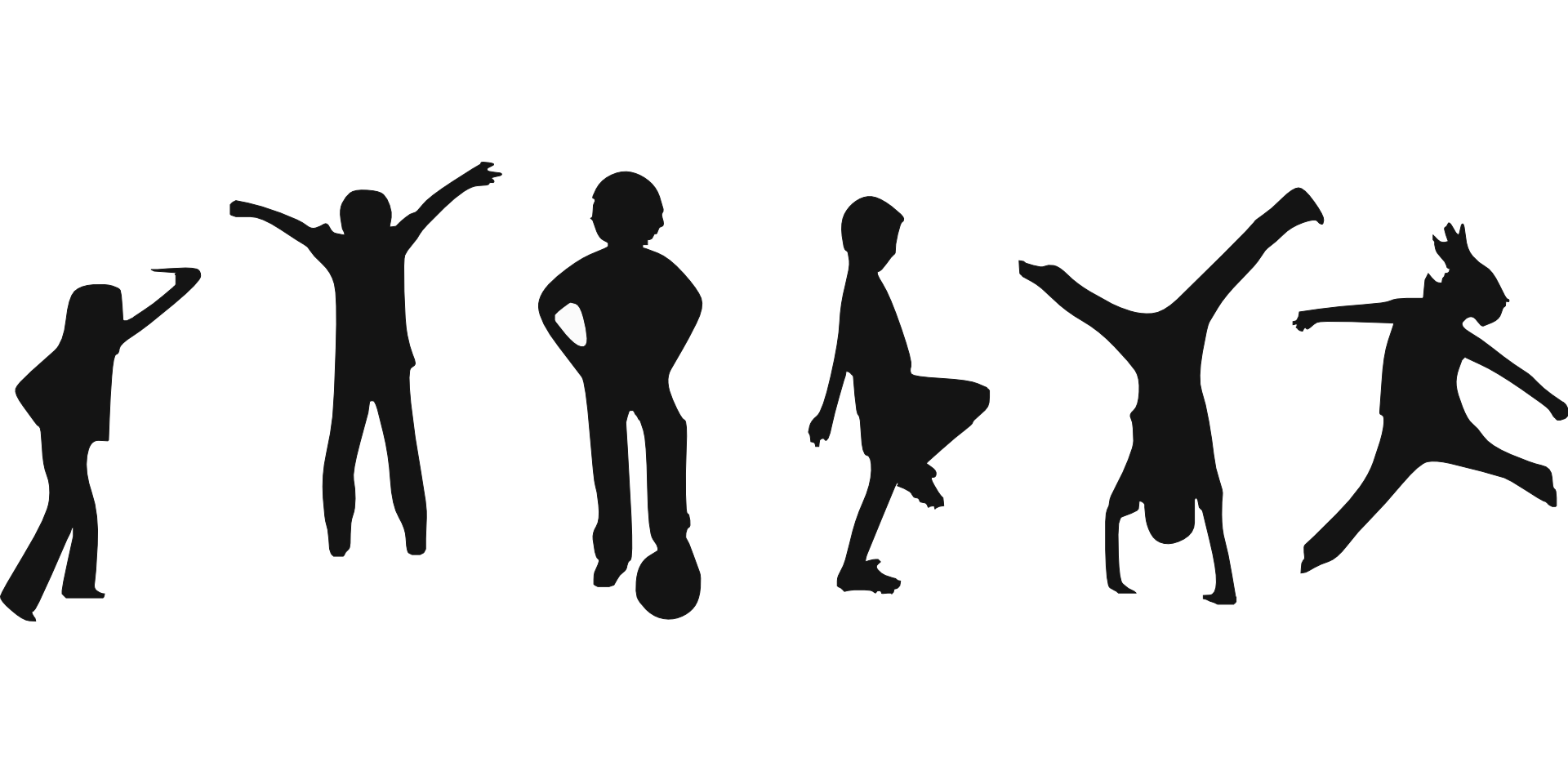 Silhouette at getdrawings com. Exercise clipart childrens