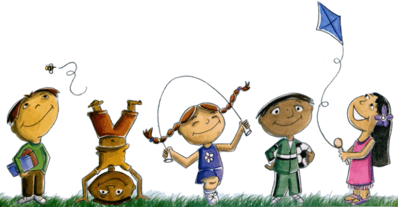 Physical activity north bay. Clipart children exercise