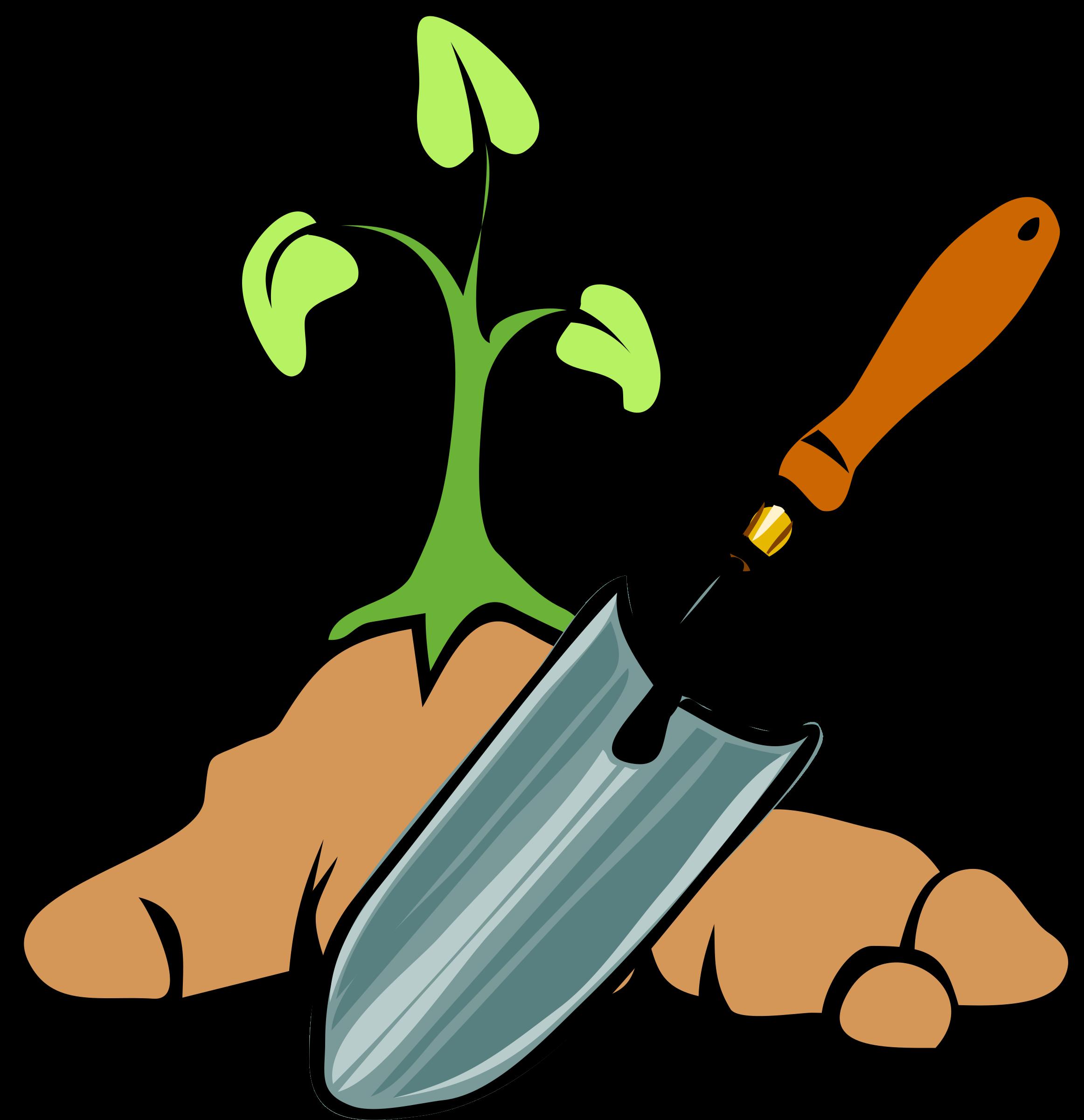 Garden free clip art. Gardener clipart gardin