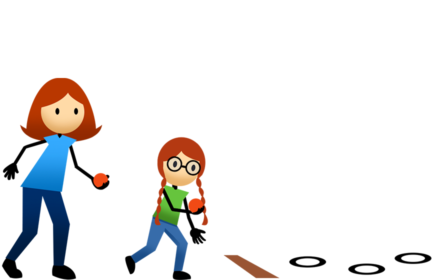 Pe clipart underhand throw. Activities active for life